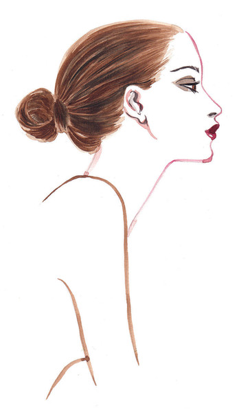 Tresemme Style Journal - Ballerina Bun