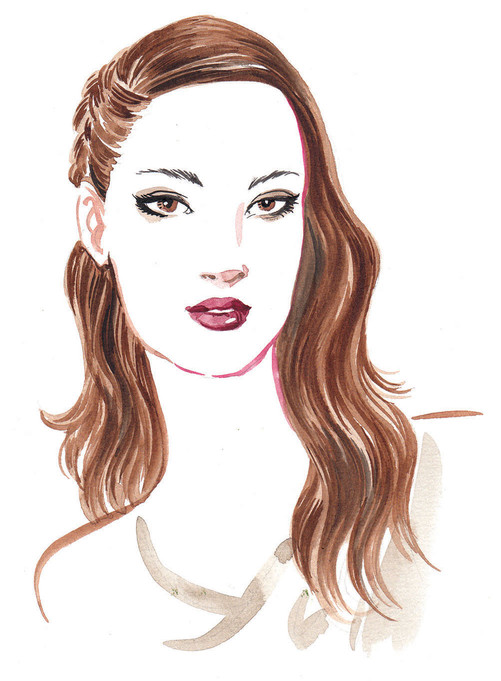 Tresemme Style Journal - Side Plaits