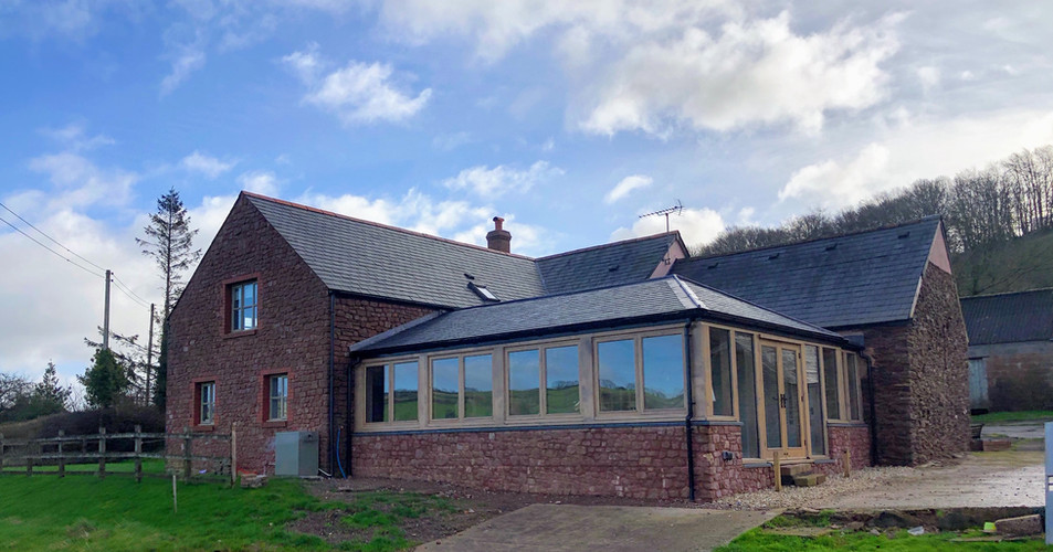 West Somerset Farmhouse Extension by Ware Construction