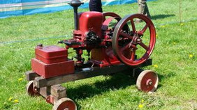 Dunster Country Fair Village Green - Vintage Machinery