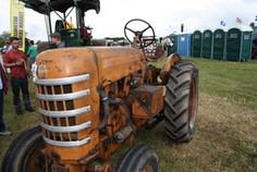 Dunster Country Fair Village Green - Vintage Tractors