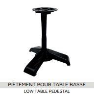 Pieds de Table collection Art-Déco