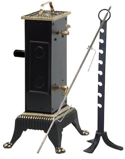 Tournebroche mécanique 12 kg