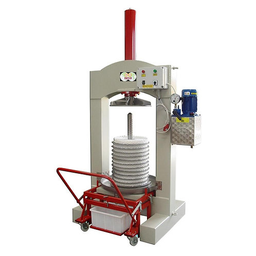 Pressoir à olives hydraulique électrique