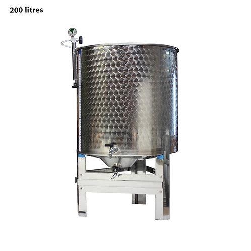 Cuve inox garde vin 200L