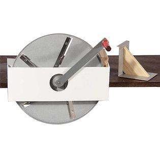 Coupe choux à disque avec manivelle