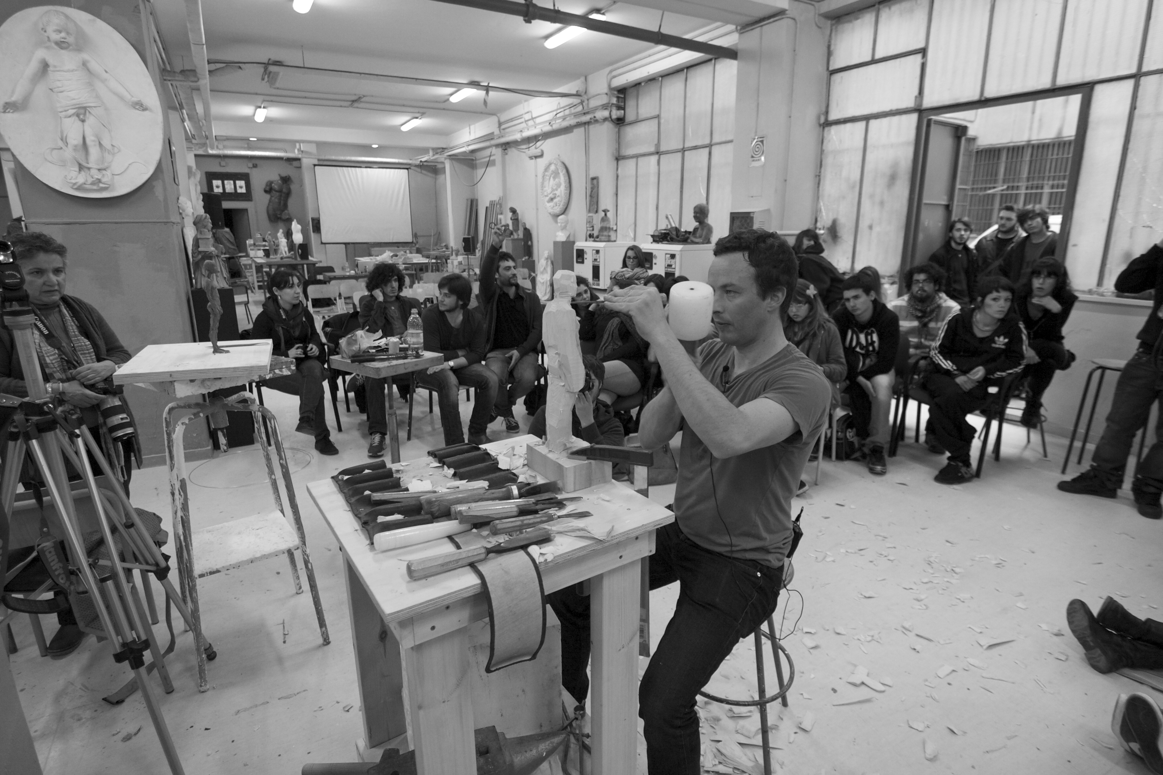 Flickr - Aron Demetz - Dialoghi e materia - Workshop a cura di Franco Reina87