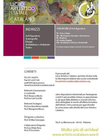 Il LICEO CATALANO a ORIENTASICILIA