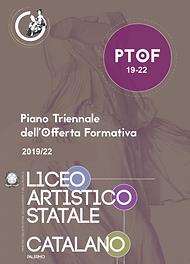 Copertina del PTOF 2019-21 Liceo Catalano- clicca e leggi.leggi