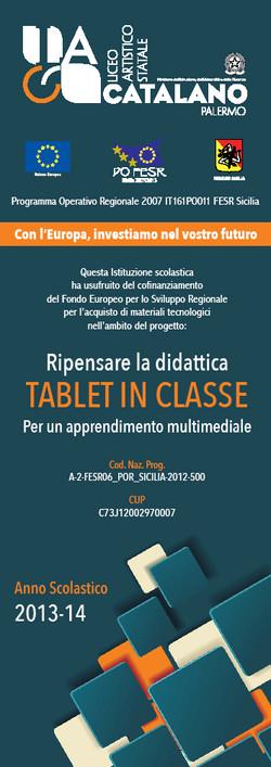 Segnalibro - Tablet in classe