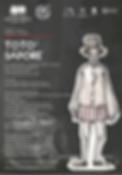 Antigone di Sofocle - a.s. 2014-15 Manifesto - Liceo Artistico Catalano