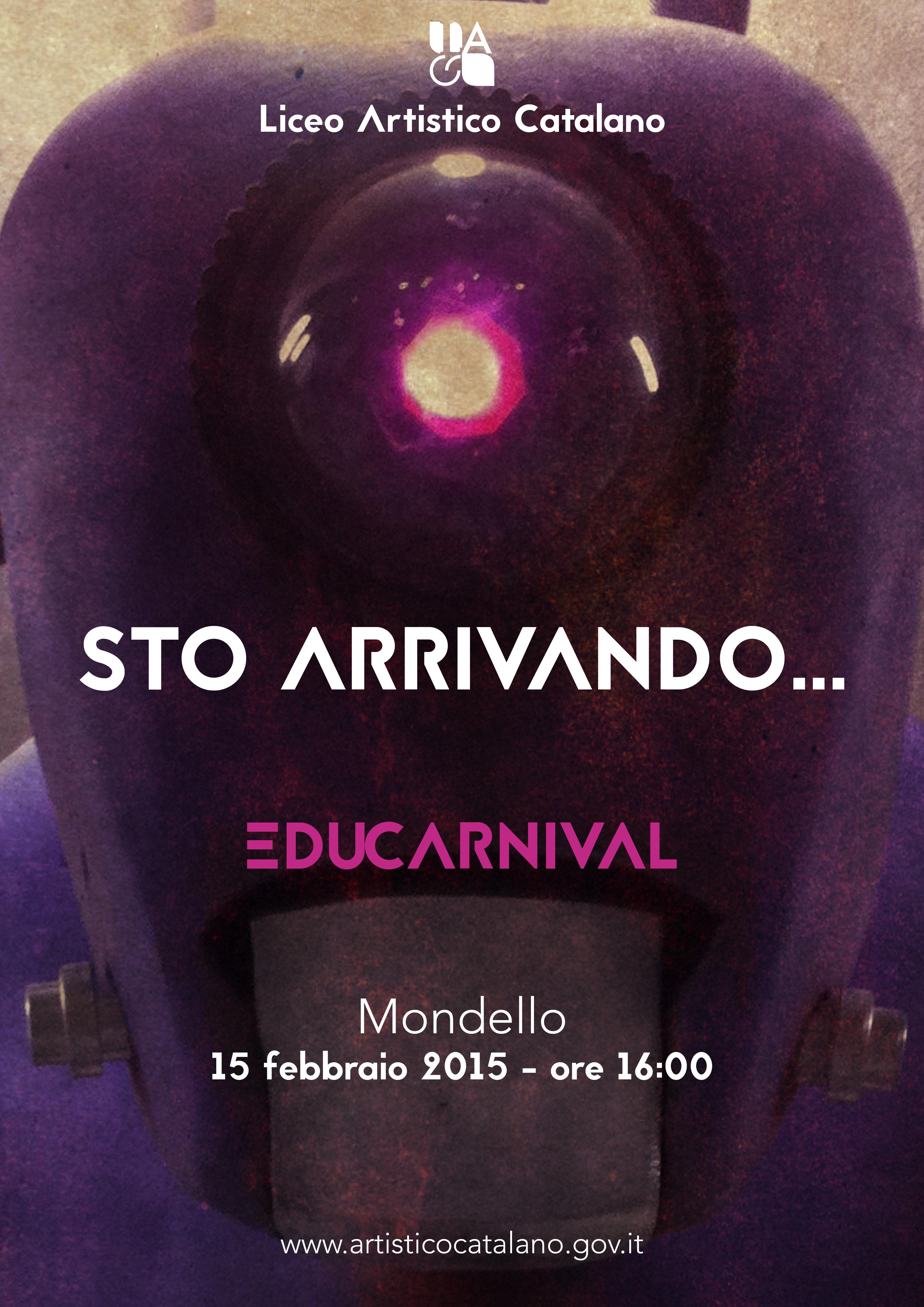 Locandina Educarnival 2015 - Sto' arrivando.png
