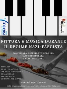 Musica e pittura durante il regime nazi-fascista.