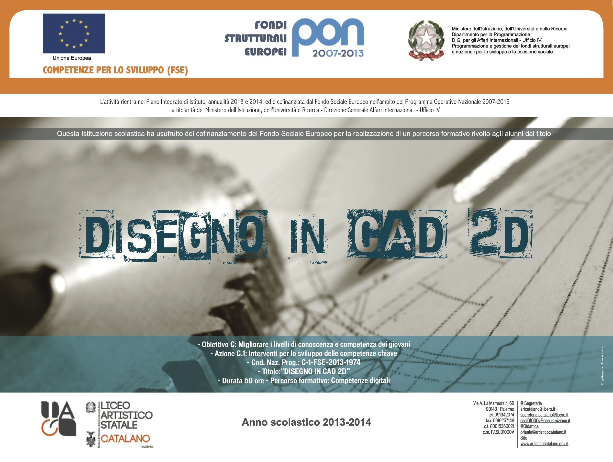 Disegno CAD in 2D