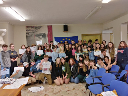Liceo Catalano -settimana di scambio 10-14 febbraio 2020. Studenti italiani e belgi a Palermo per il progetto EHON.