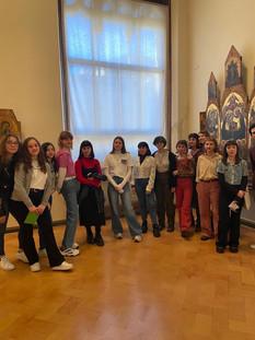 Palazzo Abatelllis Liceo Catalano -settimana di scambio 10-14 febbraio 2020. Studenti italiani e belgi a Palermo per il progetto EHON.