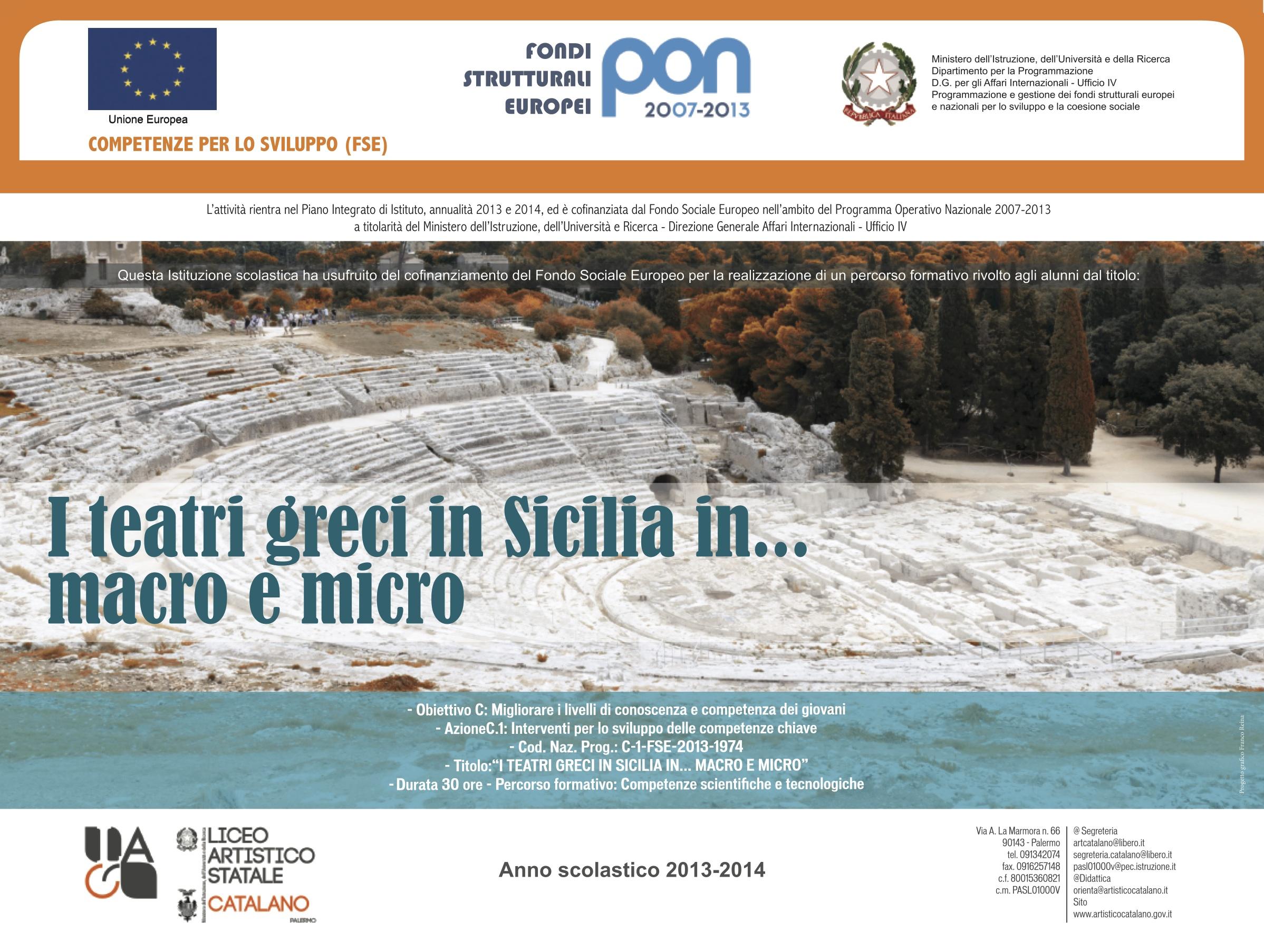 I teatri greci in Sicilia in...