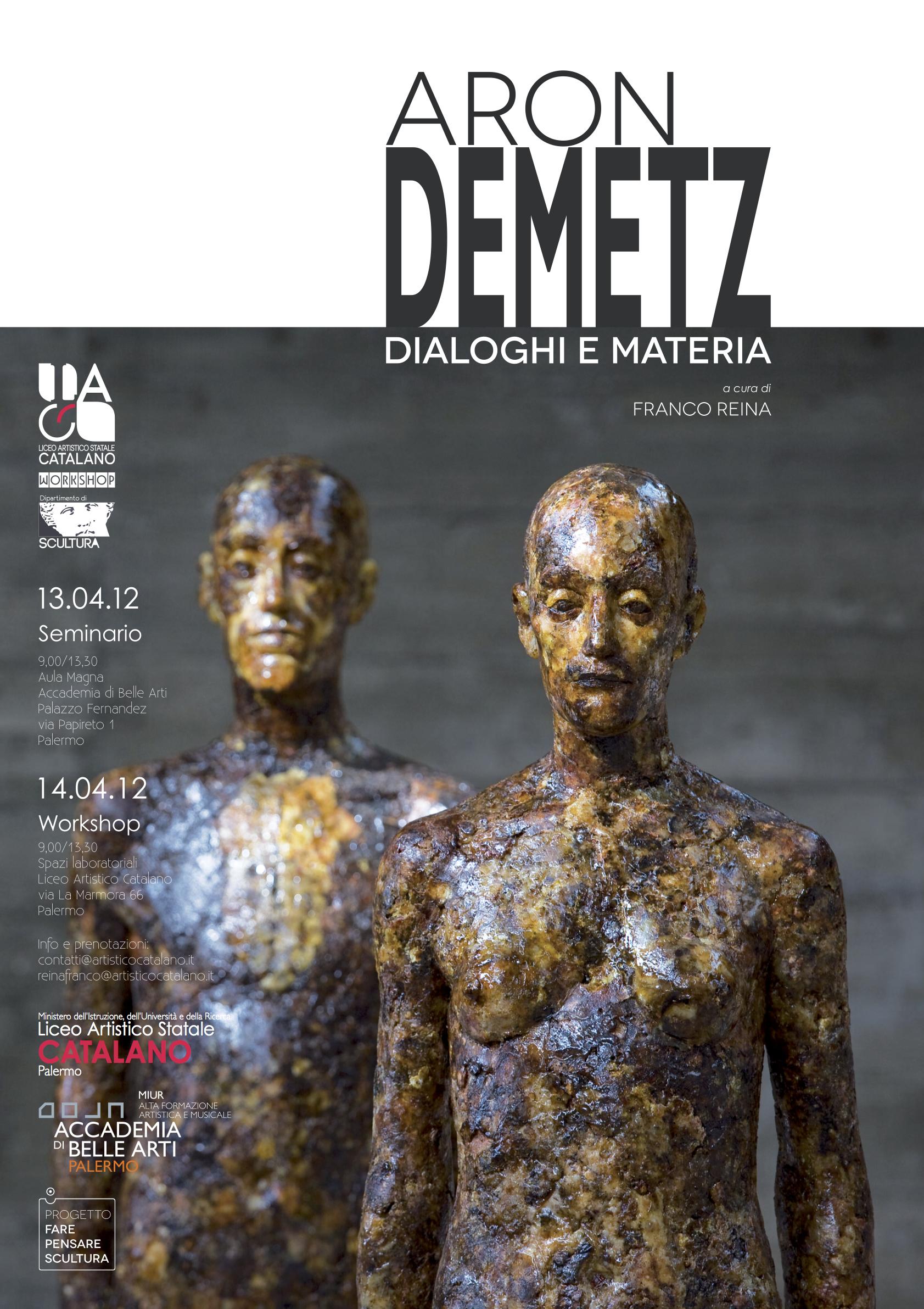 Aron Demetz - Dialoghi e Materia