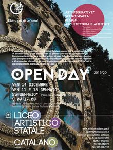 OPEN DAY - ISCRIZIONI PER a.s. 2019-20