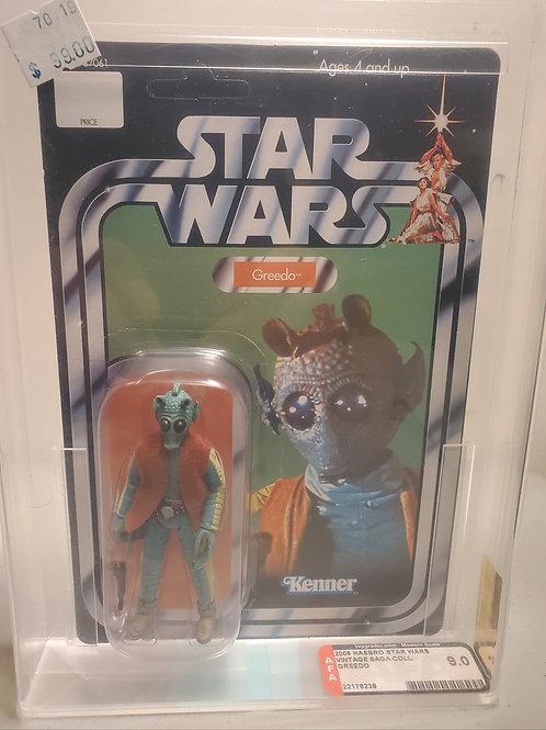 2008 Star Wars Vintage Saga Greedo 9.0 AFA Graded