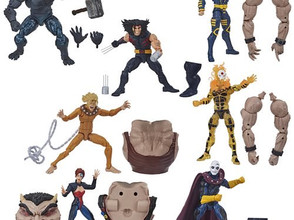 X-Men Marvel Legends 2020 6-Inch Action Figures Wave 1