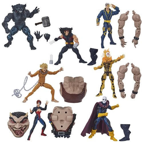 CONTACT US      Monday - Friday: 7:30am - 5:30pm  Pacific Time EE Distribution: 1-818-255-0095 Fax: 1-818-255-0091 E-mail:  sales@eedistribution.com        Home >> Hasbro >> X-Men >> Action Figures   Direct Link: http://eed.co/?l=E471571d2 X-Men Marvel Legends 2020 6-Inch Action Figures Wave 1    Coming in May 2020 (details) Pre-Order now and we'll deliver in May 2020 (estimated date / subject to change). Item Number: HSE7349A This item cannot ship to certain locations outside the United States.    Pieces Per Case: 8   Order Case Quantity:    Add to Wish List E-Mail Reminders   See All Hasbro X-Men Merchandise See All X-Men Action Figures See All Hasbro Action Figures See All X-Men Items See All Hasbro Products See All Action Figures   Case Quantity Total Pieces Price Per Piece  Price Per Case  1-3   8-24    $16.76     $134.10   4+   32+    $15.56     $124.50  You May Be Interested in These Bestsellers: Avengers Video Game Marvel Legends Action Figures Wave 1 Ghostbusters Plasma Series 6-Inch Action Figures Wave 1 Case Marvel Zombies Wolverine GITD Pop! Vinyl - EE Exclusive X-Men Marvel Legends 2020 6-Inch Dark Beast Action Figure Child's Play Chucky Pop! Vinyl Figure Marvel Legends Series 6-Inch Venom Action Figure X-Men Marvel Legends 2020 6-Inch Action Figures Wave 1: X-Men Marvel Legends 6-Inch Action Figures are back!  Each figure features awesome accessories and amazing detail.  Includes a build-a-figure piece!  Case contains 8 individually packaged action figures.  X-Men Marvel Legends 6-Inch Action Figures bring your favorites to life in stunning 6-inch scale action figure form. Each figure includes awesome accessories and amazing detail, plus a build-a-figure piece. Collect them all! Ages 4 and up.  This X-Men Marvel Legends 6-Inch Action Figures case contains 8 individually packaged action figures: 1x Jean Grey 1x Sunfire 2x Weapon X 1x X-Man 1x Witch Child 1x Dark Beast 1x Morph