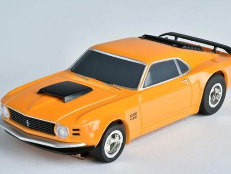 Tomy Afx Mustang Boss 429 Orange-21050