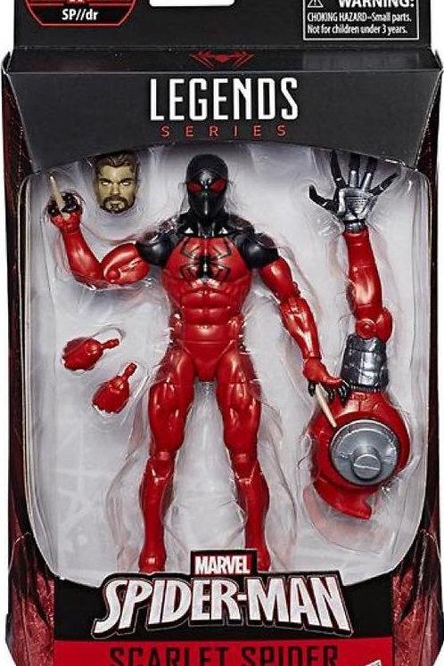"""Spiderman: Marvel Legends  Scarlet Spider with SP//dr """"BAF """"wave"""