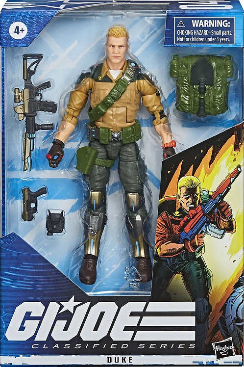 G.I Joe Classifed Series Duke