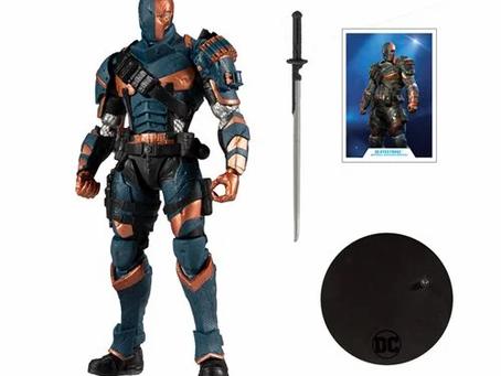 DC Gaming Wave 2 Arkham Origins Deathstroke 7-Inch Action Figure