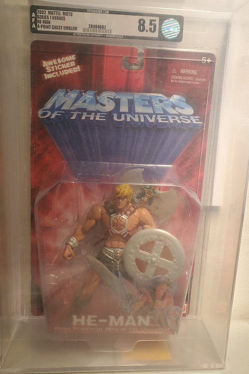 Jungle Attack He-Man 2002 MOTU Masters of the Universe Mattel MOC 200xAFA Graded