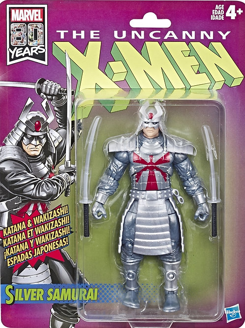Marvel Legends X-Men Retro Collection Silver Samurai
