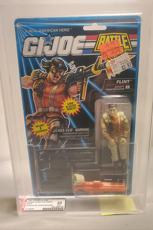 1994 G.I Joe Series 13 Flint  85+NM AFA Graded