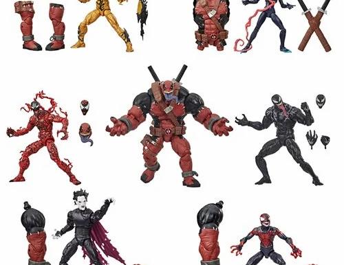 Venom Marvel Legends 6-Inch Action Figures Wave 1 Case