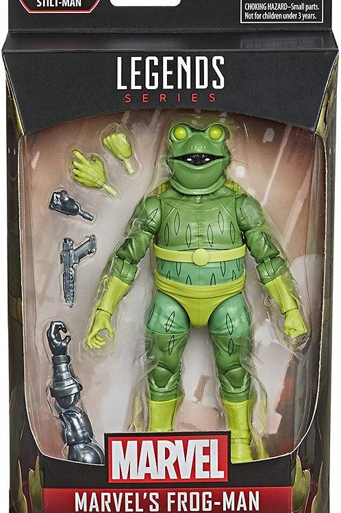 Spider-Man Marvel Legends 6-Inch Action Figures Frog-Man