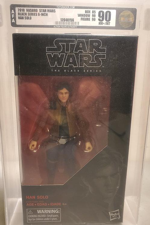 2018 Star Wars Black Series Han Solo  AFA Graded