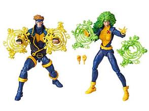 Marvel Legends 90s Havok and Polaris 6-Inch Action Figures - Exclusive