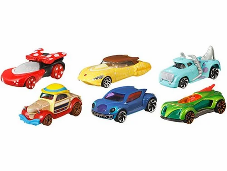 Disney Hot Wheels Character Cars 2019 Mix 5 Case