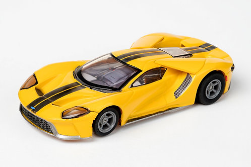 Tomy Afx Ford Gt Triple Yellow 22029