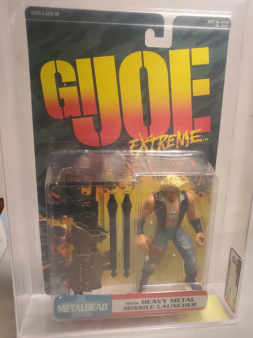 1995 G.I.Joe Extreme Series 1 Metal Head  85NM+ Afa Graded