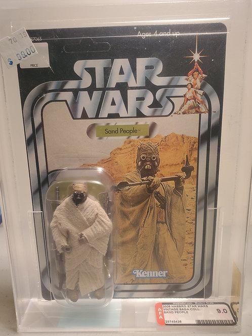 2008 Star Wars Vintage Saga Sand People 9.0 AFA Graded