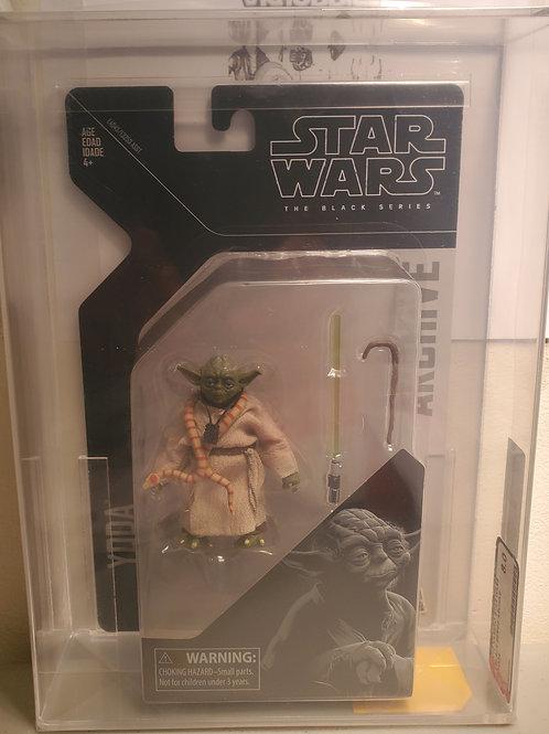 2019 Star Wars Archive Black Series Yoda AFA 8.0 Graded