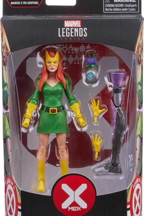 Marvel legends X-Men: Jean Grey House of X BAF series Tri Sentinel