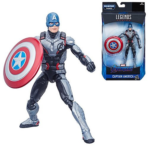 "Avengers Marvel Legends 6-Inch Endgame Captain America ""Thanos BAF""Action Figure"