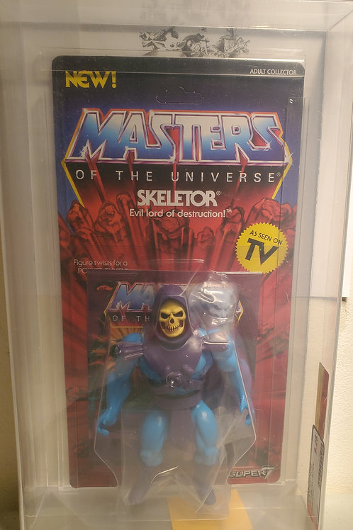 2018 Masters Of The Universe Super 7 Skeletor  AFA Graded