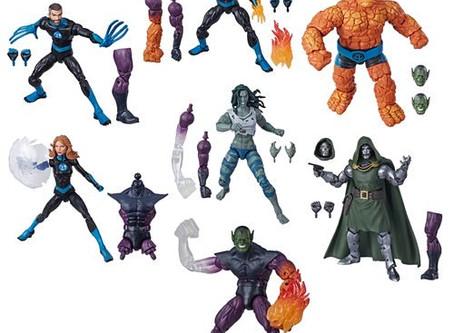Fantastic Four Marvel Legends 6-Inch Action Figures Wave 1
