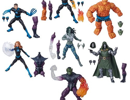 Fantastic Four Marvel Legends 6-Inch Action Figures Wave 1