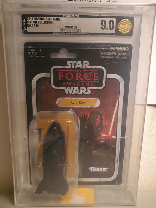 2018 Star Wars Vintage Collection VC117 Kylo Ren 9.0 AFA Graded