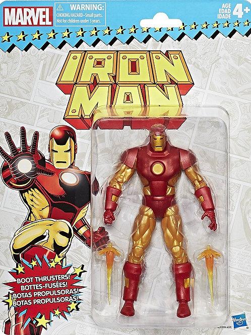 Marvel Legends Vintage Wave 1 Iron Man  Action Figure