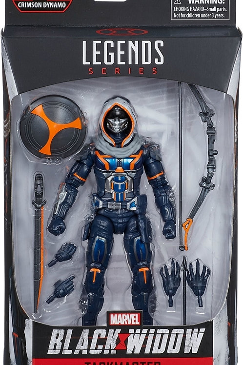 "Marvel Legends Black Widow Taskmaster ""Crimson Dynamo BAF"